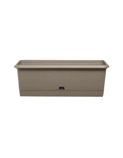 RUSTIC TURTLEDOVE FLOWERBOX 62cm with SAUCER